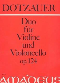 Duo für Violine und Violoncello op. 124 laflutedepan