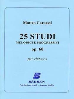 25 Studi melodici e progressivi op. 60 Matteo Carcassi laflutedepan