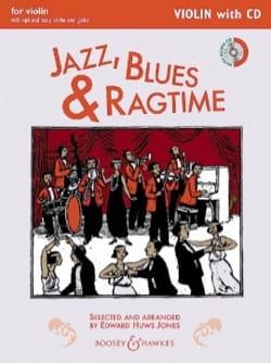 Jazz, Blues & Ragtime - Violon + CD Jones Edward Huws laflutedepan