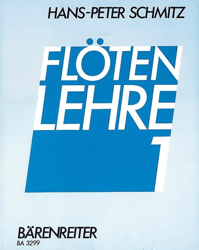 Flötenlehre - Bd. 1 - Hans-Peter Schmitz - laflutedepan.com