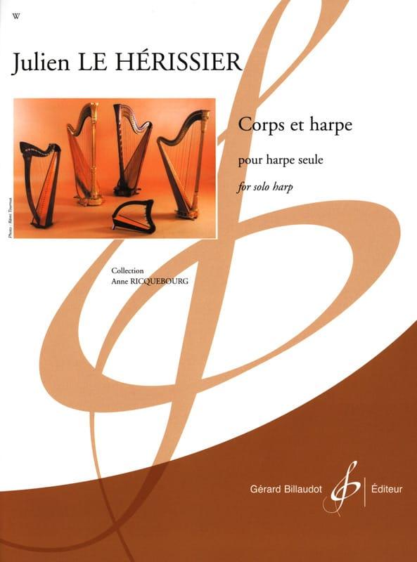 Corps et Harpe - Hérissier Julien Le - Partition - laflutedepan.com