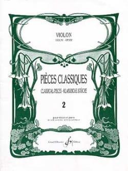 Pièces Classiques Volume 2 - Violon Partition Violon - laflutedepan