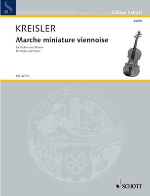 Marche miniature viennoise KREISLER Partition Violon - laflutedepan
