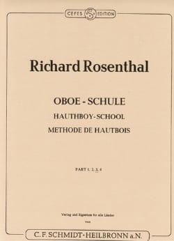 Méthode de hautbois - Volume 3 - Richard Rosenthal - laflutedepan.com