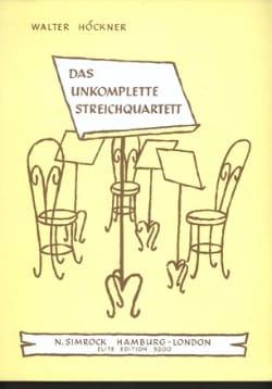 String Quartet Starts Rehearsing - Incomplete Str. qu. laflutedepan