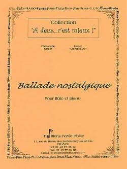 Ballade nostalgique Mège Christophe / Sautereau Hervé laflutedepan