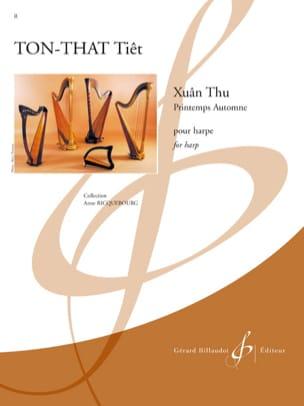 Xuân Thu - Tiêt Ton-That - Partition - Harpe - laflutedepan.com
