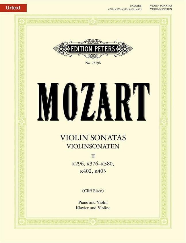 Violin Sonaten Vol 2 - MOZART - Partition - Violon - laflutedepan.com