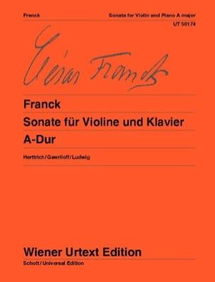 Sonate A-Dur - Violine FRANCK Partition Violon - laflutedepan