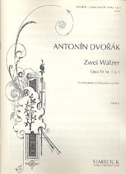 2 Walzer op. 54 Nr. 1 & 4 - 2 Violine, Viola, Cello, Kontrabass ad lib. laflutedepan