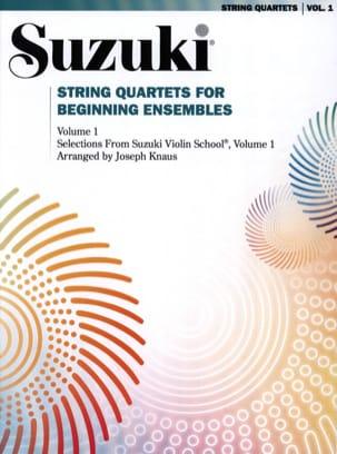 String Quartet For Beginning Ensembles Volume 1 laflutedepan