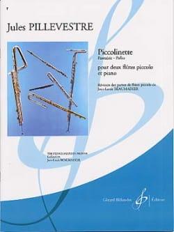 Piccolinette Jules Pillevestre Partition Trios - laflutedepan