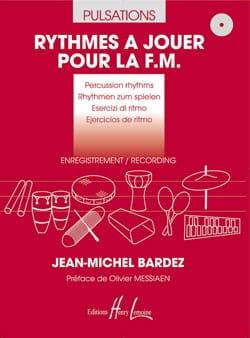 Rythmes à jouer pour la F.M. + 2 CD Jean-Michel Bardez laflutedepan