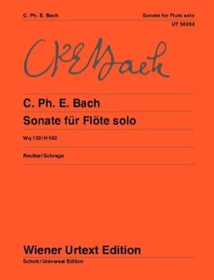 Sonata en la mineur pour flûte solo, Wq 132/H 562 laflutedepan