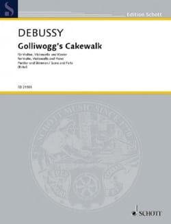 Golliwogg's Cakewalk DEBUSSY Partition Trios - laflutedepan