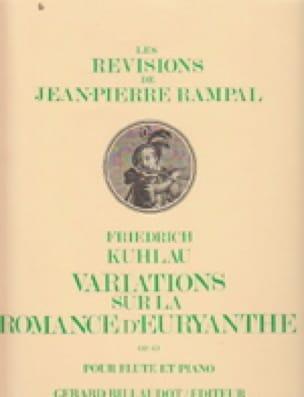 Variations sur la Romance d'Euryanthe op. 63 - laflutedepan.com