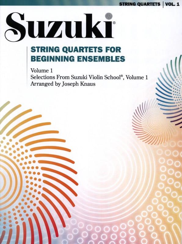 String Quartet For Beginning Ensembles Volume 1 - laflutedepan.com
