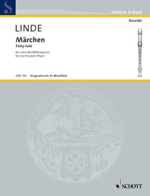 Märchen Hans-Martin Linde Partition Flûte à bec - laflutedepan