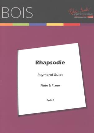 Rhapsodie Raymond Guiot Partition Flûte traversière - laflutedepan