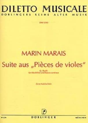 Suite aus Pièces de violes - Blockflöte u. BC - laflutedepan.com