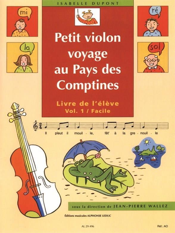 Petit Violon au Pays des Comptines Volume 1 - laflutedepan.com