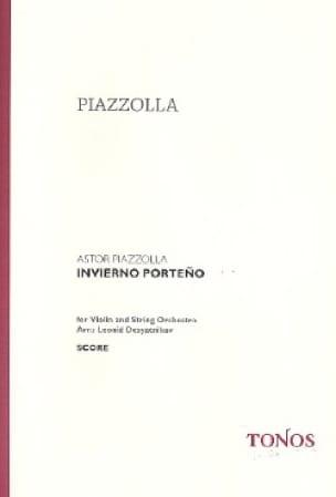 Invierno Porteno - Astor Piazzolla - Partition - laflutedepan.com