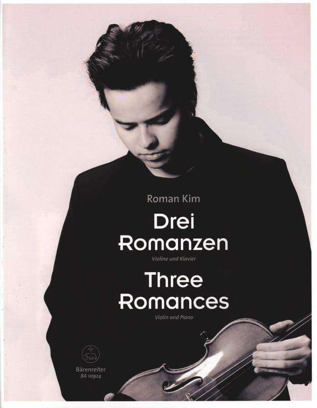 3 Romances - Roman Kim - Partition - Violon - laflutedepan.com