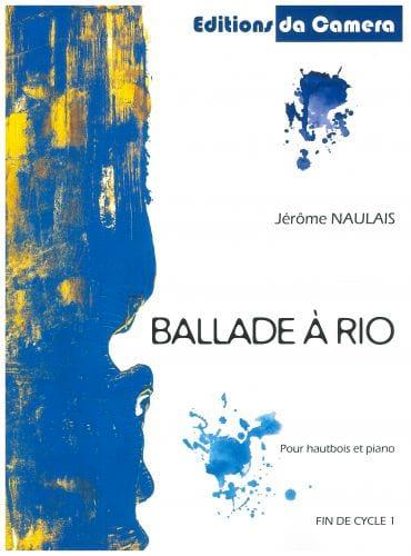 Ballade à Rio - Hautbois-Piano - Jérôme Naulais - laflutedepan.com