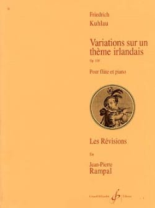 Variations sur un Thème Irlandais Op. 105 laflutedepan