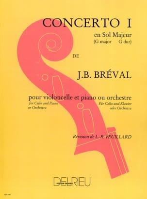 Jean-Baptiste Bréval - Concierto para violonchelo n.º 1 en sol mayor - Partition - di-arezzo.es