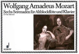 Serenade Nr. 2 F-Dur - Altblockflöte u. Klavier MOZART laflutedepan