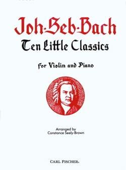 10 little classics BACH Partition Violon - laflutedepan