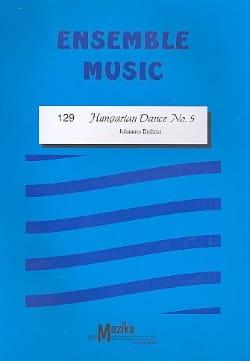 Hungarian dance n° 5 -Ensemble BRAHMS Partition laflutedepan