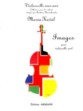 Images Maria Koval Partition Violoncelle - laflutedepan