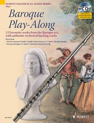 Flute Baroque Play-Along - Partition - laflutedepan.com