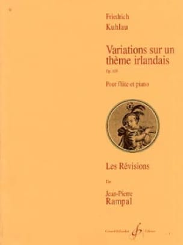 Variations sur un Thème Irlandais Op. 105 - laflutedepan.com