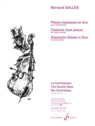 Pieces classiques en duo Bernard Salles Partition laflutedepan