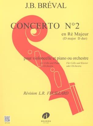 Jean-Baptiste Bréval - Concierto n.º 2 en re mayor - Partition - di-arezzo.es