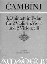 Quintett Nr. 3 in F-Dur - Partitur + Stimmen - laflutedepan.com