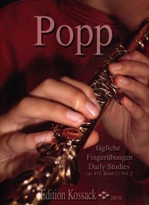 Tägliche Fingerübungen Op. 413 - Bd. 2 - Flöte laflutedepan