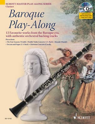 Baroque Play-Along for Clarinet Partition Clarinette - laflutedepan