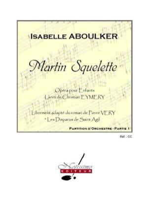 Martin Squelette - 2 Volumes - Isabelle Aboulker - laflutedepan.com