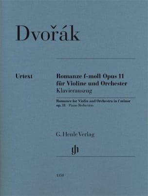 Romance en Fa mineur Opus 11 DVORAK Partition Violon - laflutedepan