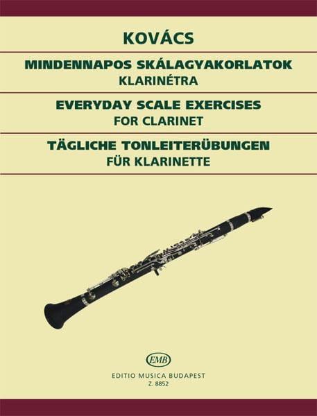 Tägliche Tonleiterübungen - Klarinette - laflutedepan.com