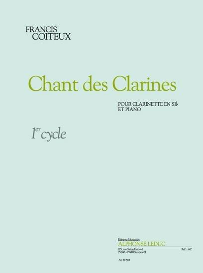 Chant des Clarines - Francis Coiteux - Partition - laflutedepan.com