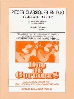 Pièces Classiques en Duo Volume 1 laflutedepan