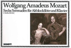 Serenade Nr. 4 Es-Dur - Altblockflöte u. Klavier MOZART laflutedepan