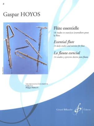 Flûte Essentielle Gaspar Hoyos Partition laflutedepan