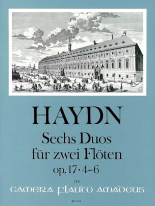 6 Duos Op. 17 Volume 2 - 2 Flûtes HAYDN Partition laflutedepan