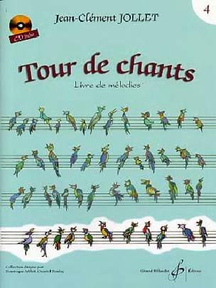 Tour de Chants Volume 4 - Jean-Clément Jollet Partition laflutedepan